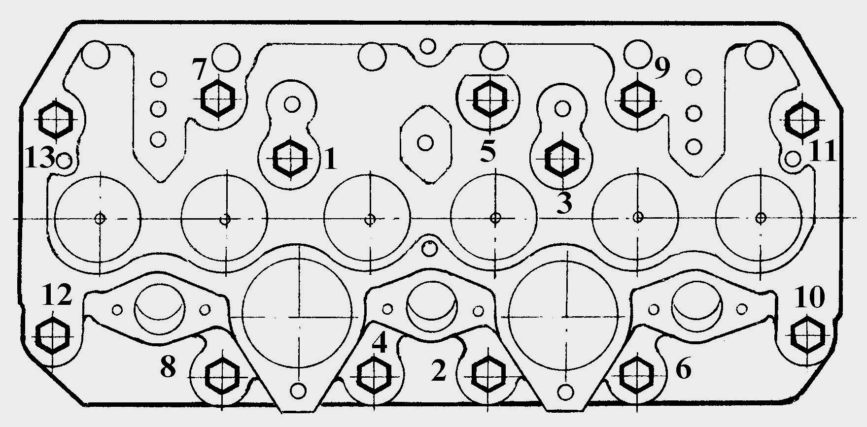 схема установки шатунных вкладышей д-144