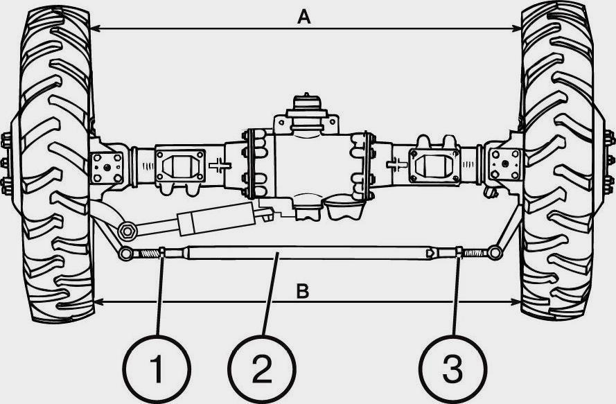 Регулировка колеи трактора МТЗ-80, МТЗ-82, МТЗ-82.1