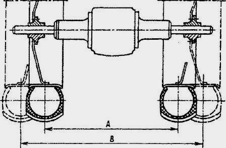 Схема регулировки задних колес