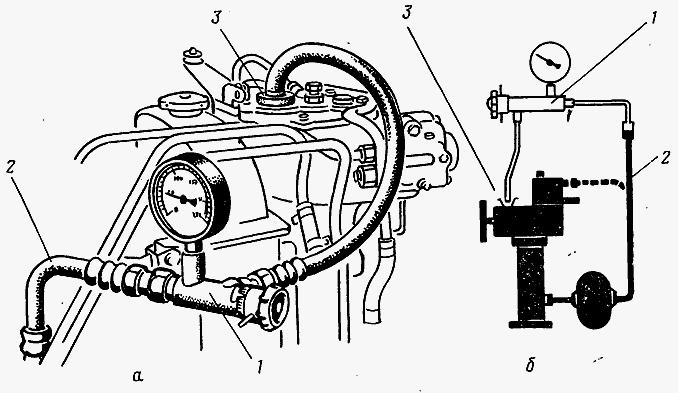 Контрольно-измерительные приборы трактора МТЗ-82