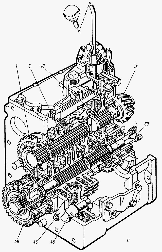 Вал первичный МТЗ 3022 схема | Запчасти для тракторов.