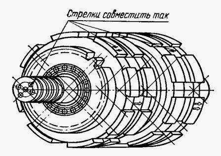 схема кпп т-150
