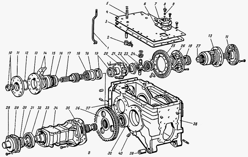 Руководства по ремонту трактора МТЗ 1025